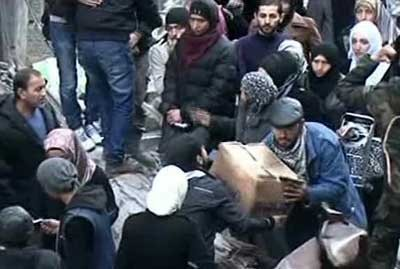 supplies have entered al-Yarmouk Camp-2