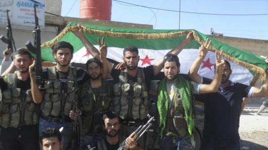 syrian-rebels-celebrating