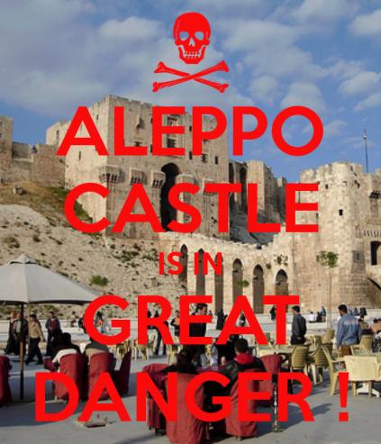 Aleppo_Castle_in_great_danger