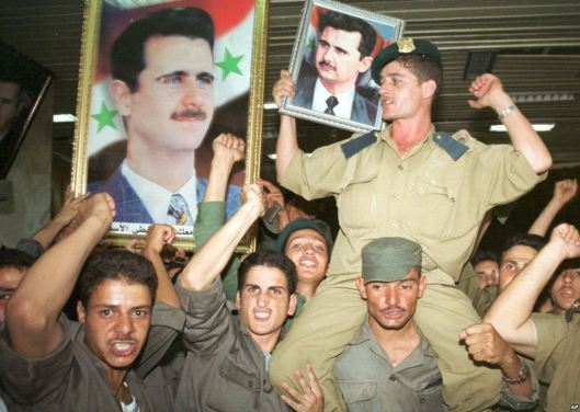bashar becomes president 2000