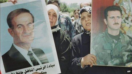 bashar becomes president