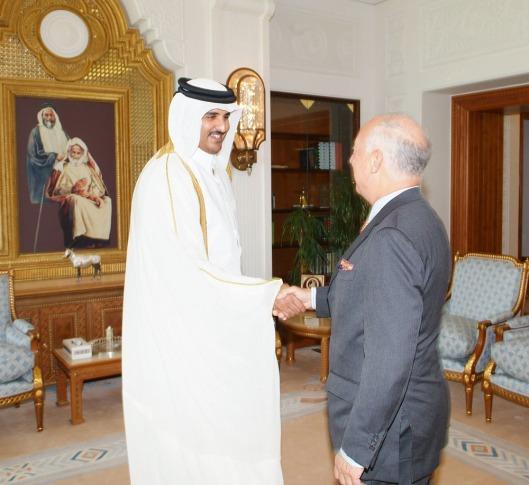 NATO Deputy Secretary General meets the Crown Prince of Qatar