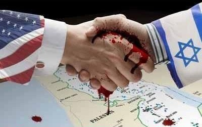 USA-Zion-Palestinian-blood