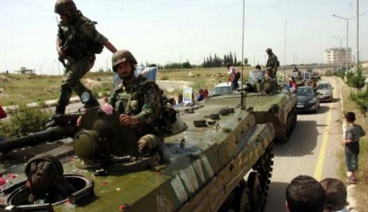 Syrian army improves in Qalamoun, rebels flee to Lebanon