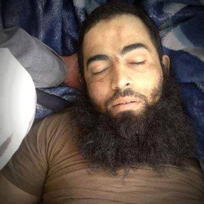 The Egyptian terrorist Abu Mohammed al-Masri, ISIL's emir of Manbej, Aleppo suburbs, eliminated by Syrian Arab Army, heroes and defenders of homeland
