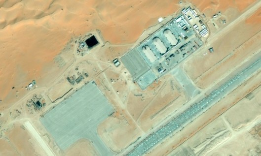 DRONE BASE IN SAUDI