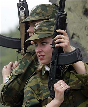military_woman_russia_army