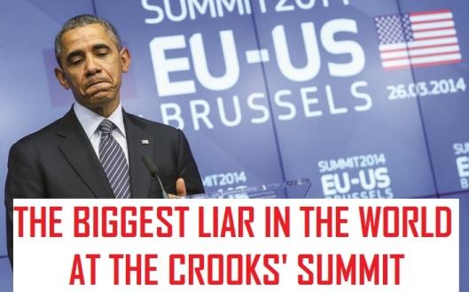 US President Obama visits EU Council