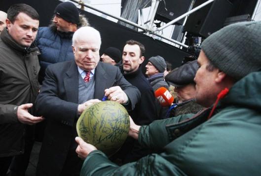 US Senator John McCain-DECEMBER-15-2013