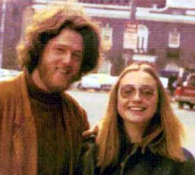 bill-hillary-clinton circa 1970