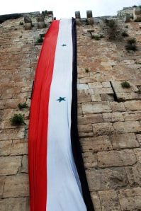 homs-long-flag-on-wall