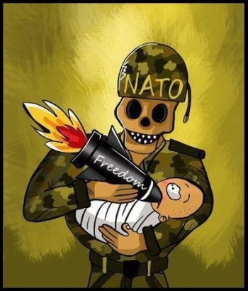 Afbeeldingsresultaat voor the us and europe warcriminals in the rest of the world cartoon