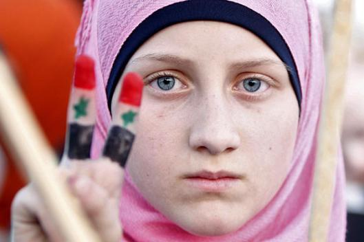 pro-assad-girl