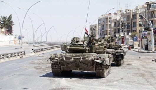 الجيش السوري يستعيد فليطة وراس المعره في القلمون
