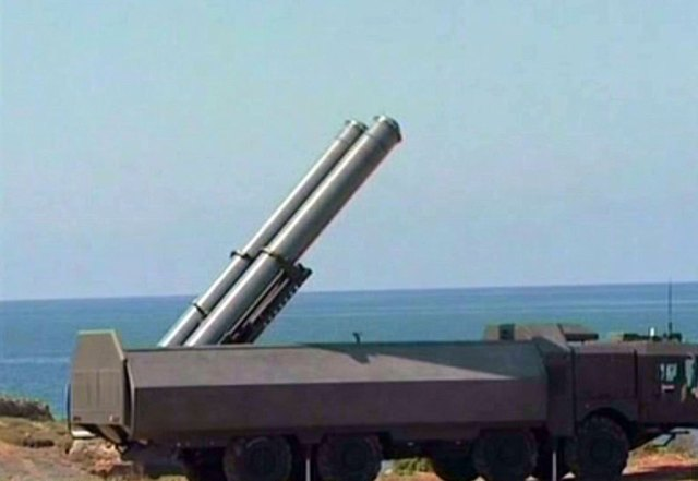 On Syria's coastline, sometimes you see these moving platforms hauling the supersonic Yakhont KH61