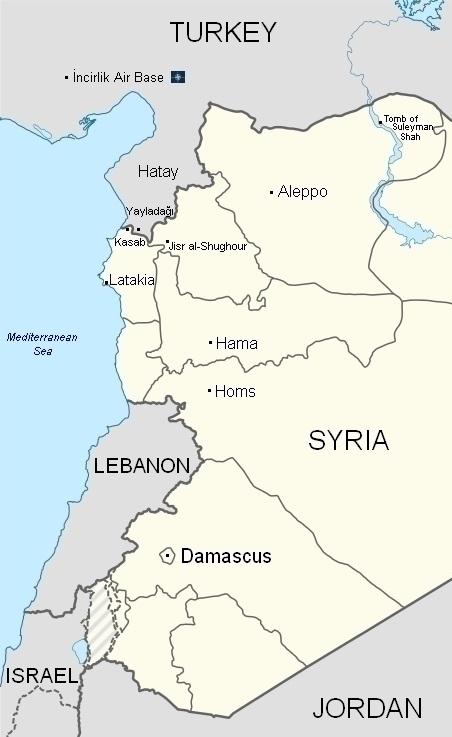 Syria-Turkey_map452