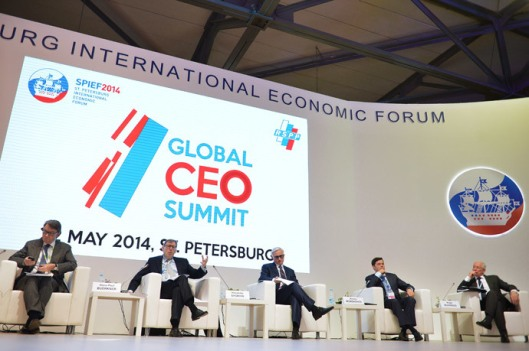 2014 St Petersburg International Economic Forum-1
