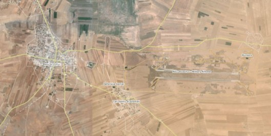 Abu Dhuhoor Airbase and Village