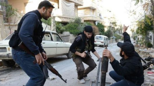 Al-Qaeda-linked militants in Syria