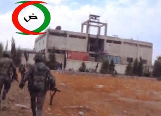 Arab Nationalist Guard members in Syria-550