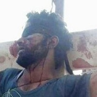 Takfirist terrorists in Syria crucified several people in the city of Raqqa