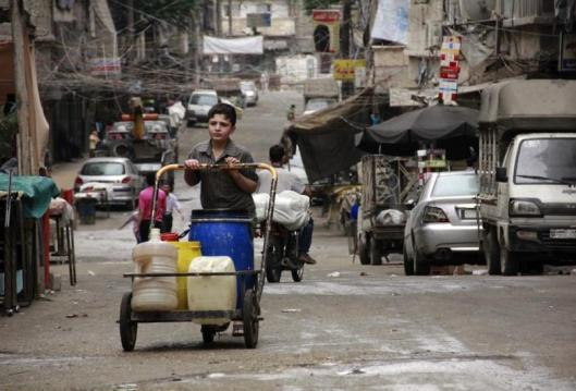 cut off water to 3 million people in Aleppo-5
