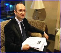 Erkan Metin, an Assyrian lawyer who began investigating Turkey's potential connections to Magomed Abdurrahmanov when the government said little about his arrest (photo: World Watch Monitor).