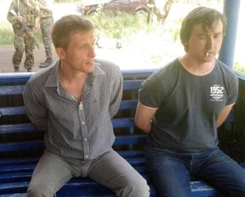 Journalists Oleg Sidyakin and Marat Saichenko