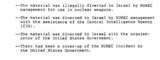 uranium illegally diverted