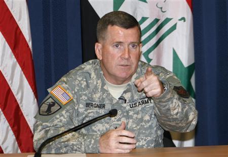 US Military Spokesman General Kevin Bergner