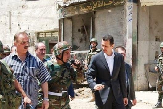 al-assad-and-army-fighting-intl-terrorism