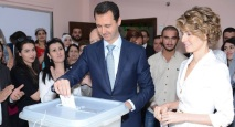 bashar-al-assad-vota-20140603-damasco