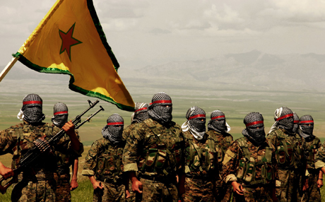 YPG Kurd Resistent Fighters