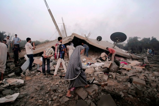 6 members of a family killed in Israeli raid on their home-900-2