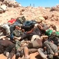 ISIS Jihadist-Mercenaries Hideous Massacre at the Syrian Gas Field of Sha'er: VIDEO UPDATE ~ GRAPHIC