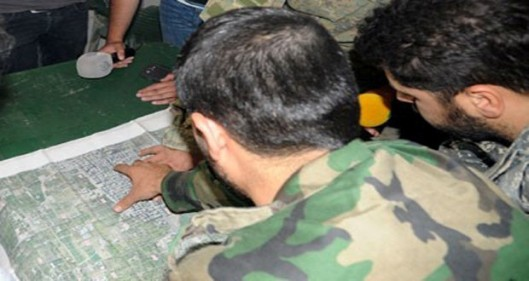 Al-Alam exclusive photos of Syrian troops during operations