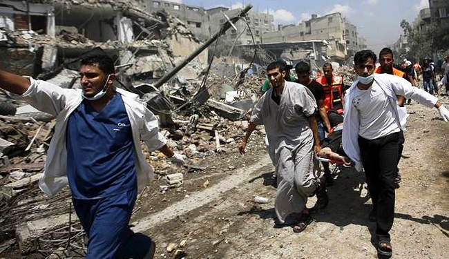 The Gaza Death Toll Reached