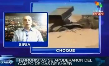 ISIS massacre of al-Shaer UPDATE ~ Hisham Wannous (Syrian National Television) on Telesur: