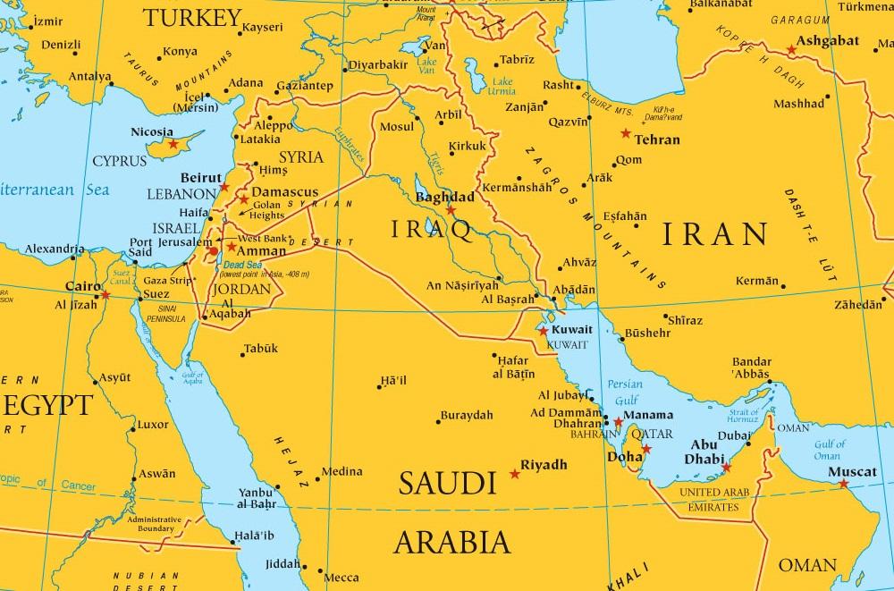 Latest News Of Iraq Map