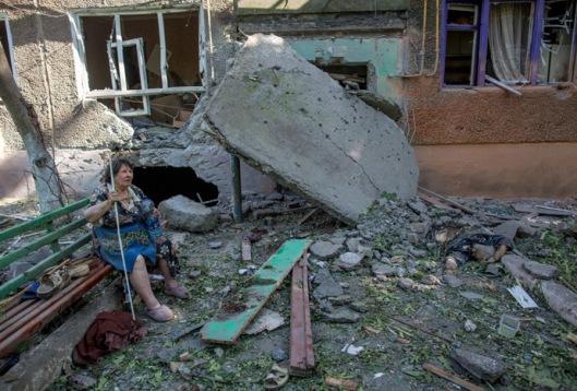 Situation in Slavyansk, Donetsk Region