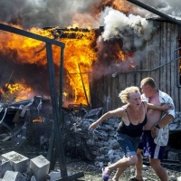 Ukraine disaster ~ The coup plotters of Kiev are slaughtering the people of Ukraine on orders and coverage by US/NATO (as in Irak-Syria) ~ MILITIA REPORTS & Videos