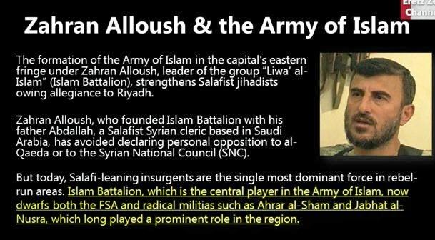 Afbeeldingsresultaat voor jaysh al islam terroristen