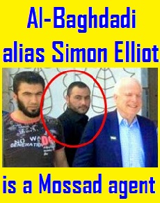 Al-Baghdadi is a Mossad agent