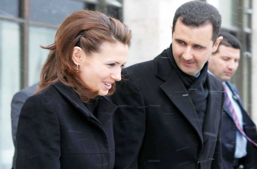 asma-and-bashar-al-assad-900 | the real Syrian Free Press