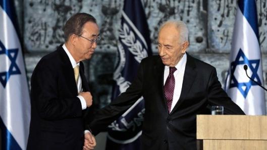 Ban Ki-moon colaboro en secreto con Israel