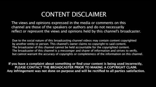 content-disclaimer
