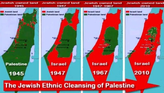 Ethnic Cleansing of Palestine 1945-2010