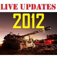 "Gaza Live Updates 2012: ""Pillar of Defense"""