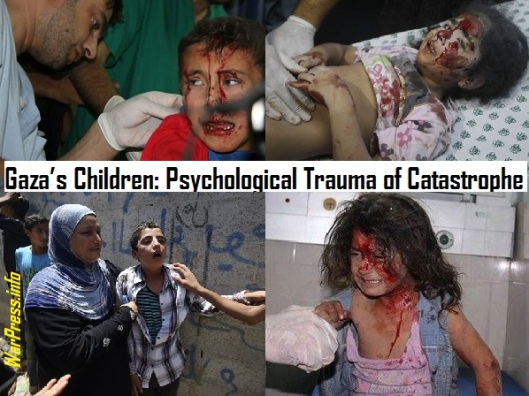 Gaza-s Children-The Psychological Trauma of Catastrophe