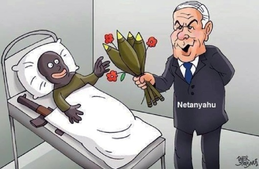 Netanyahu-injured-terrorists-COMICS-600